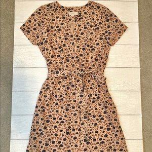 LOFT Dress with Tie Waist - in Mint Condition